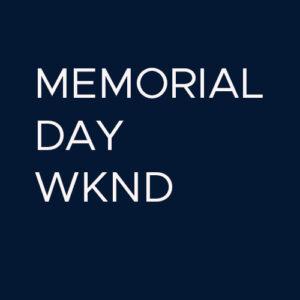 19th MEMORIAL DAY WKND